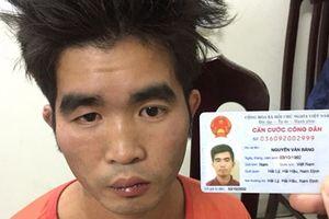 Vây bắt nam thanh niên liều lĩnh cướp tiệm vàng giữa ban ngày ở Hà Nội