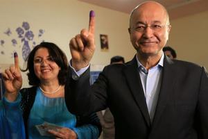 Nền dân chủ chiến thắng, Iraq có Tổng thống mới