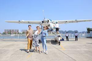 Siêu mẫu Thái Lan, Hồ Ngọc Hà trải nghiệm thủy phi cơ quảng bá du lịch Việt