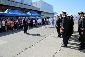 Chiến hạm Trần Hưng Đạo thăm thành phố Sakai - Nhật Bản