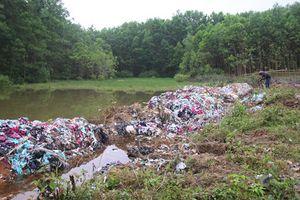 Cảnh báo việc 'mở bãi rác trong rừng phòng hộ' là hành vi bị nghiêm cấm