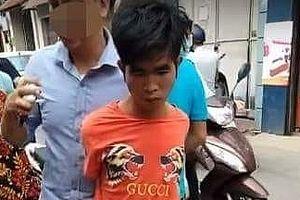 Hà Nội: Bắt giữ đối tượng liều lĩnh cướp tiệm vàng