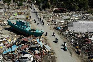Động đất Indonesia: Gần 1.400 người thiệt mạng, hơn 100 người mất tích