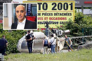 Pháp: Trùm tội phạm vượt ngục bằng trực thăng lại sa lưới cảnh sát