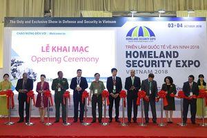 Nhiều sản phẩm và công nghệ tiên tiến được đem tới Triển lãm Quốc tế về An ninh