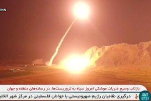 Iran bắt đầu trừng phạt IS tại Syria