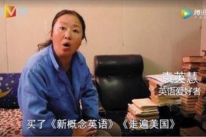 Ước mơ trở thành phiên dịch tiếng Anh của cô bán đồng nát
