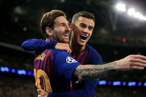 Messi rực sáng, Barca thắng đậm Tottenham