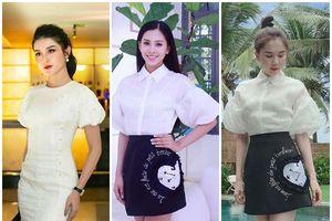 Định giá tiền loạt váy hiệu mà HH Trần Tiểu Vy đã 'đụng hàng' với những 'Nữ hoàng thảm đỏ'