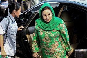 Malaysia bắt giam vợ cựu Thủ tướng Najib