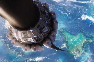 Bắc thang máy không gian lên trời được không?