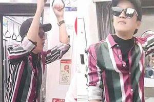 Trường Giang - Nhã Phương đi Hàn Quốc hưởng trăng mật mà ai nấy cười bò vì danh hài ăn mặc y chang 'vẹt Hong Kong'