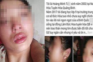 Lấy chồng từ năm 15 tuổi và thường xuyên bị bạo hành, mẹ trẻ lên mạng xã hội cầu cứu