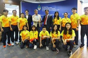 13 VĐV Việt Nam lên đường tham dự Olympic trẻ Argentina 2018