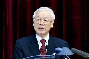Tổng Bí thư Nguyễn Phú Trọng được giới thiệu để Quốc hội bầu giữ chức vụ Chủ tịch nước