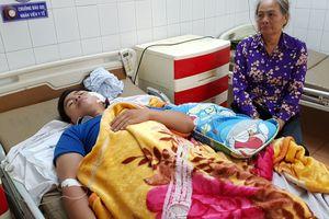 Gia Lai: 4 chiến sĩ công an bị chém nhập viện