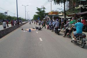 Né xe buýt tấp vào lề đường, người đàn ông bị xe tải cán tử vong ở Sài Gòn