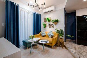 Ngắm nhìn căn hộ nhỏ màu vàng - lam đầy cảm hứng của bà mẹ đơn thân ở Sài Gòn