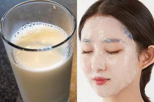 Rửa mặt bằng sữa đậu nành theo cách này 2 lần/ngày, da đen bẩm sinh cũng bật tông, trắng hồng nhanh chóng