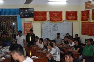 Ninh Bình: Phá xới bạc, bắt giữ 34 đối tượng