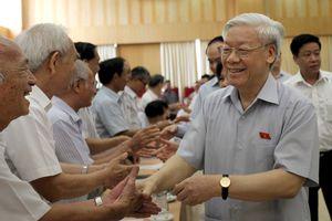 Trung ương giới thiệu Tổng bí thư Nguyễn Phú Trọng để Quốc hội bầu Chủ tịch nước