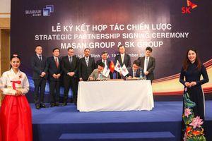 SK Group chính thức trở thành cổ đông nước ngoài lớn nhất của Masan Group