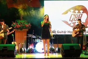 Đặc sắc đêm nhạc guitar show chào tân sinh viên Học viện ANND