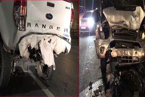 Chủ xe bị đâm chết khi đang cùng thợ khắc phục sự cố nổ lốp trên cầu Nhật Tân