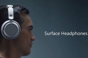 Microsoft ra mắt tai nghe thông minh Surface Headphones