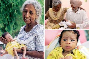 Ngả mũ trước những 'mẹ bỉm sữa' bế con sơ sinh khi đã ở tuổi làm bà
