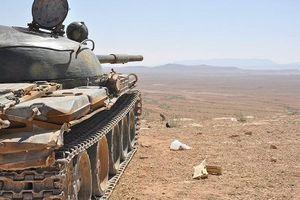 SAA 'đánh úp' khủng bố ISIS trong Al-Safa 'chảo lửa', nam Syria
