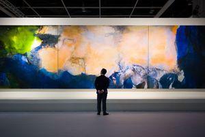 Bức họa có mức giá kỷ lục trên sàn đấu giá châu Á