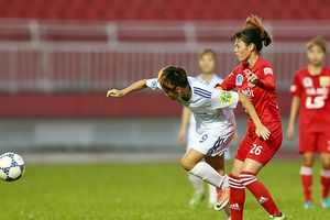 Bóng đá nữ Hà Nội nối tiếp ngôi vương cùng bóng đá nam