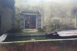 Thương tâm, bé gái 4 tháng tuổi tử vong trong bể nước