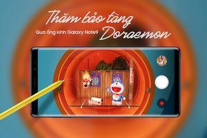 Thăm bảo tàng Doraemon qua ống kính Galaxy Note9