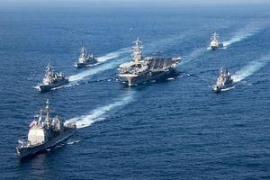 Hạm đội Mỹ đề xuất tập trận lớn cảnh cáo Trung Quốc trên Biển Đông