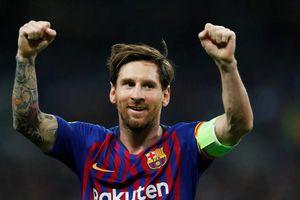 Messi ghi trung bình một bàn mỗi trận tại vòng bảng Champions League