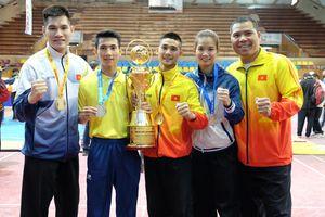 Pencak silat Việt Nam thắng áp đảo Indonesia tại giải châu Á