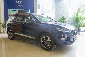 Hyundai SantaFe 2019 lộ cấu hình trước khi ra mắt ở Việt Nam