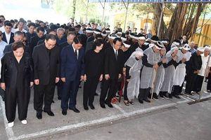 Cử hành trọng thể lễ truy điệu nguyên Bí thư Tỉnh ủy Hà Tây Nguyễn Đình Sở