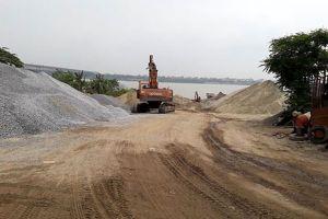 Hà Nội: Siết chặt quản lý các bãi trung chuyển vật liệu xây dựng