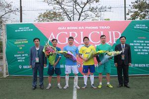 Giải bóng đá Agricup năm 2018 tranh cúp AgriBank quy tụ 8 đội tham dự