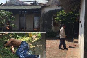 Nam thanh niên say rượu, đốt nhà xong gọi hàng xóm dập lửa rồi lăn ra ngủ