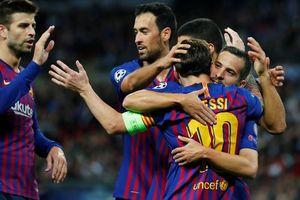 Messi nhảy tango tại Wembley, Tottenham thảm bại sân nhà
