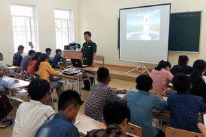 Tuyên truyền, phổ biến, giáo dục pháp luật cho nhân dân và học sinh khu vực biên giới