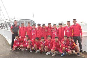 Trại hè Bóng đá thiếu niên Toyota 2018 thi đấu giao hữu tại Nhật Bản