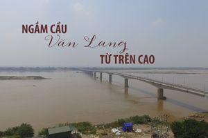 Cầu Văn Lang ngàn tỉ bắc qua sông Hồng sắp thông xe