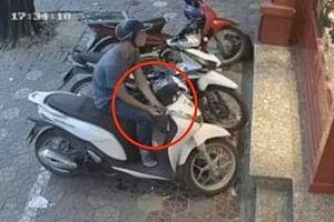 Liên tiếp xảy ra hai vụ trộm cắp xe máy SH, khẩn trương truy bắt thủ phạm