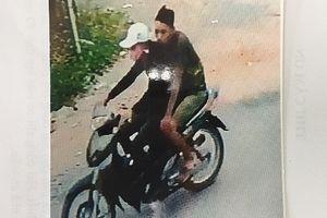 Truy tìm 2 kẻ cướp xe máy của người đánh cá