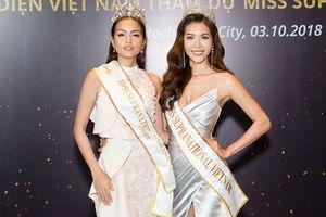 Lý do Minh Tú thay thế Ngọc Châu dự thi Hoa hậu Siêu quốc gia 2018